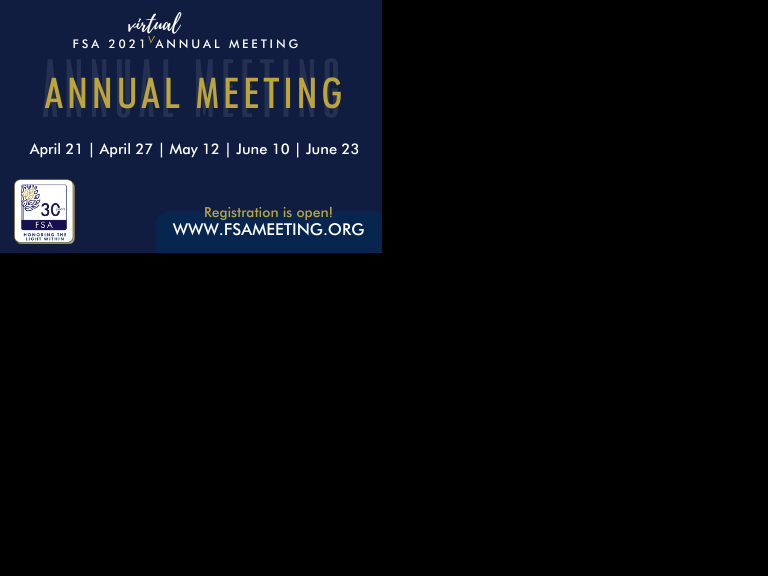 Annual Meeting 2021 Register Now